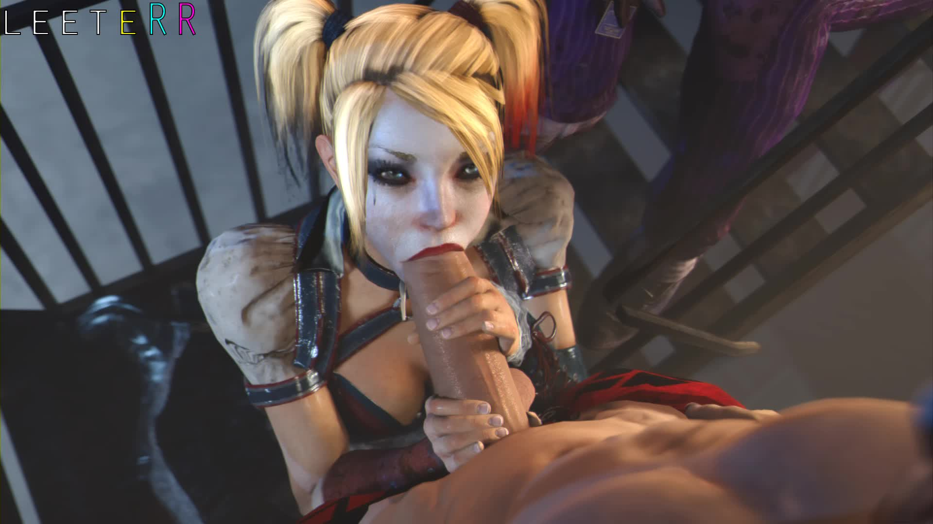 3D Animated Batman Batman_Arkham_Knight Harley_Quinn Leeterr Sound Source_Filmmaker // 1920x1080 // 1.3MB // webm