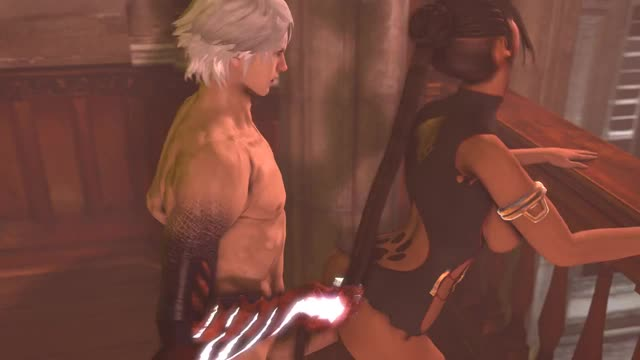 3D 9lmtt Animated Devil_May_Cry_(series) Final_Fantasy_(series) Lulu Nero Sound Source_Filmmaker // 640x360 // 8.1MB // webm