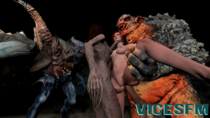3D Animated The_Witcher Triss_Merigold Troll Vicesfm // 480x270 // 1.7MB // gif