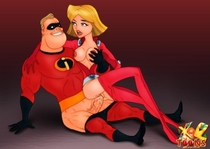 Bob_Parr Clover_(Totally_Spies) Crossover Disney_(series) The_Incredibles_(film) Totally_Spies XL-TOONS.COM // 500x355 // 38.6KB // jpg