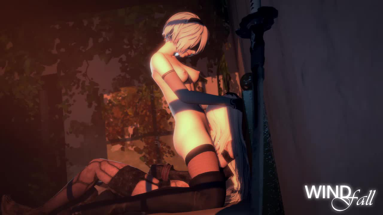 3D Android_2B Animated Nier_Automata Sound Source_Filmmaker Windfall20xx android_a2 // 1280x720 // 1.4MB // webm