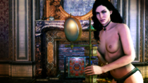 3D TKone The_Witcher The_Witcher_3:_Wild_Hunt Yennefer // 3840x2160 // 14.3MB // png