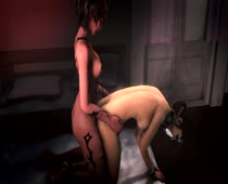 3D Animated Castanic Left_4_Dead MarmSFM Sound Succubus Zoey // 1280x720 // 1.4MB // flv