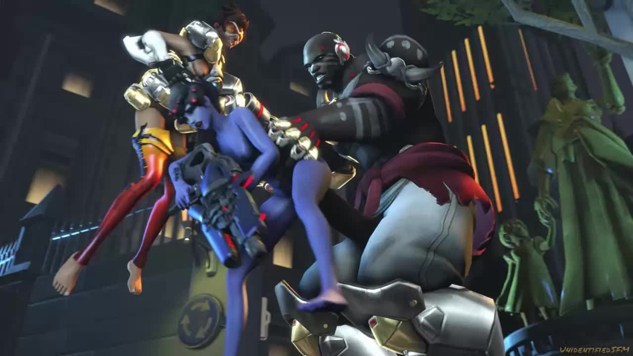 3D Animated Doomfist Source_Filmmaker Tracer Unidentifiedsfm Widowmaker // 1280x720 // 522.5KB // webm
