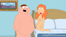 Family_Guy Lois_Griffin Peter_Griffin // 1601x900 // 431.8KB // jpg