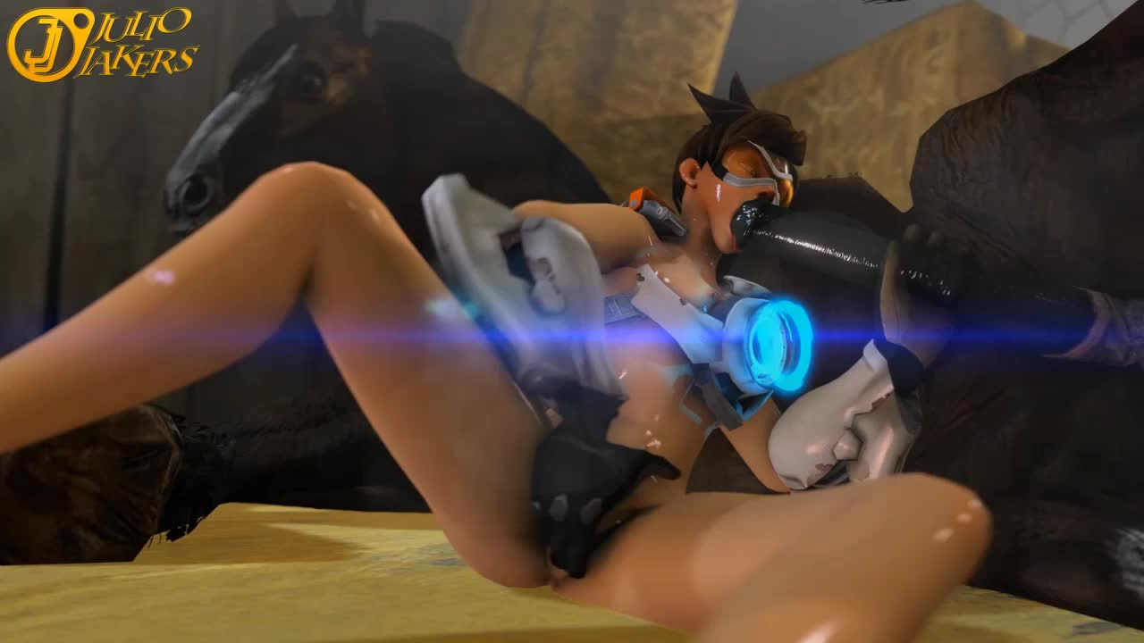 3D Animated Overwatch Source_Filmmaker Tracer juliojakers // 1280x720 // 5.2MB // webm