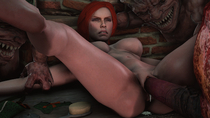 3D Shitty_Horsey Source_Filmmaker The_Witcher The_Witcher_3:_Wild_Hunt Triss_Merigold // 2560x1440 // 2.3MB // jpg