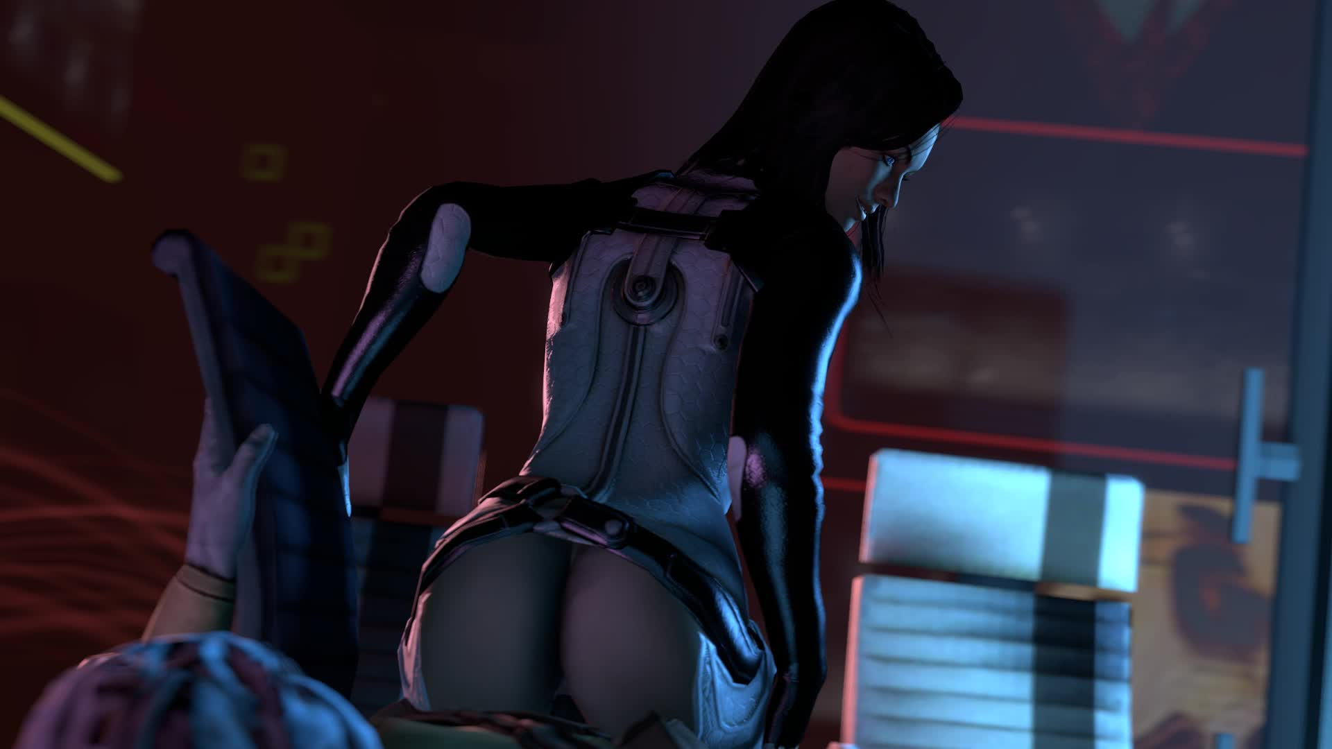 3D Animated Mass_Effect Miranda_Lawson Source_Filmmaker batarian sfmfuntime // 1920x1080 // 740.3KB // webm