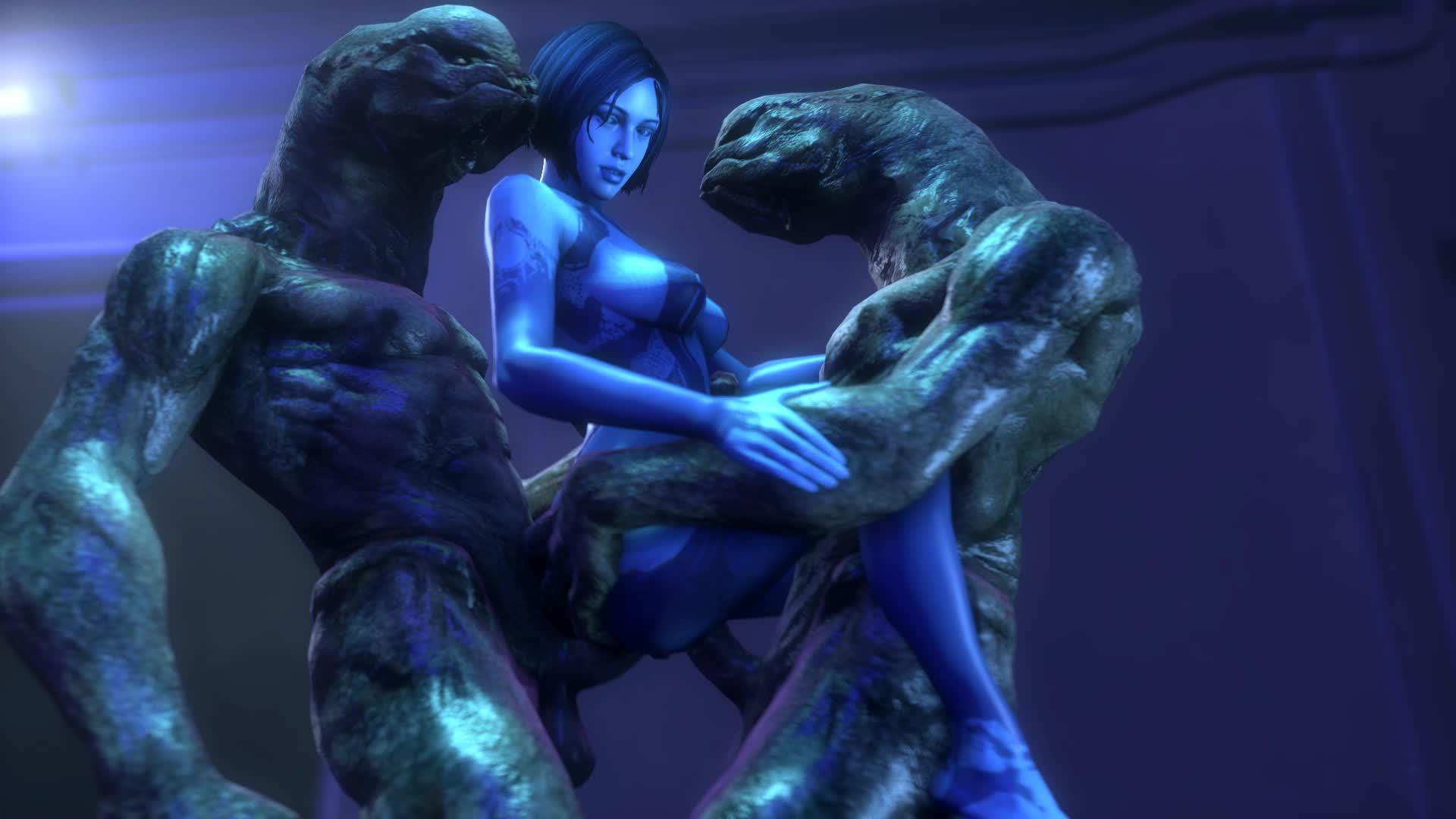 Animated Cortana Halo Sound Source_Filmmaker noname55 // 1920x1080 // 7.3MB // webm
