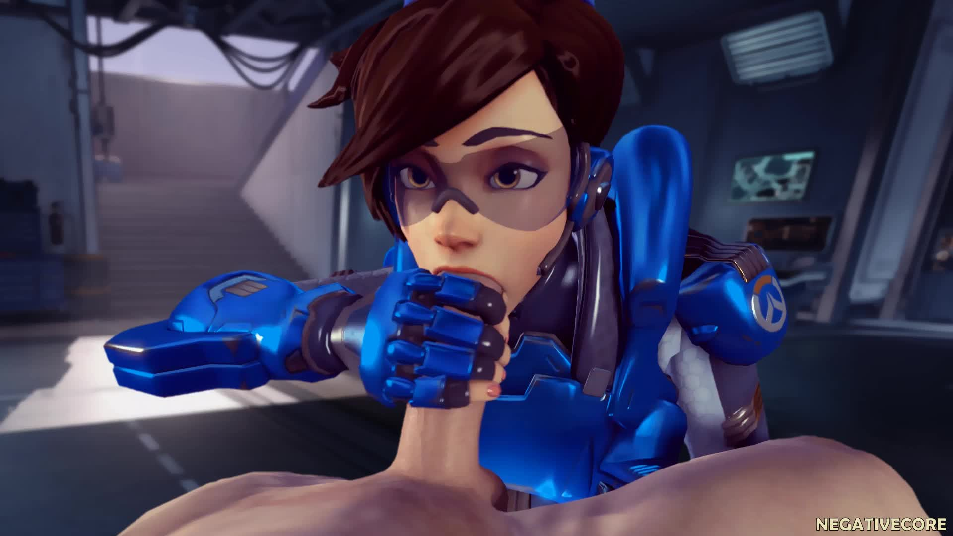 3D Animated Negativecoresfm Overwatch Source_Filmmaker Tracer // 1920x1080 // 1.9MB // webm