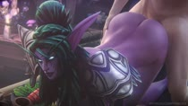 3D Animated Cinema_4D Night_Elf Sound Tyrande_Whisperwind World_of_Warcraft audiodude fpsblyck // 1280x720 // 11.7MB // webm