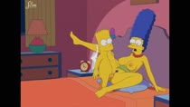 Animated Bart_Simpson Marge_Simpson Sfan The_Simpsons // 1786x1004 // 5.7MB // webm