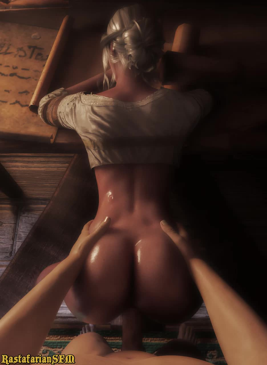 3D Animated Blender Ciri RastafarianSFM Sound The_Witcher The_Witcher_3:_Wild_Hunt // 936x1280 // 7.1MB // webm
