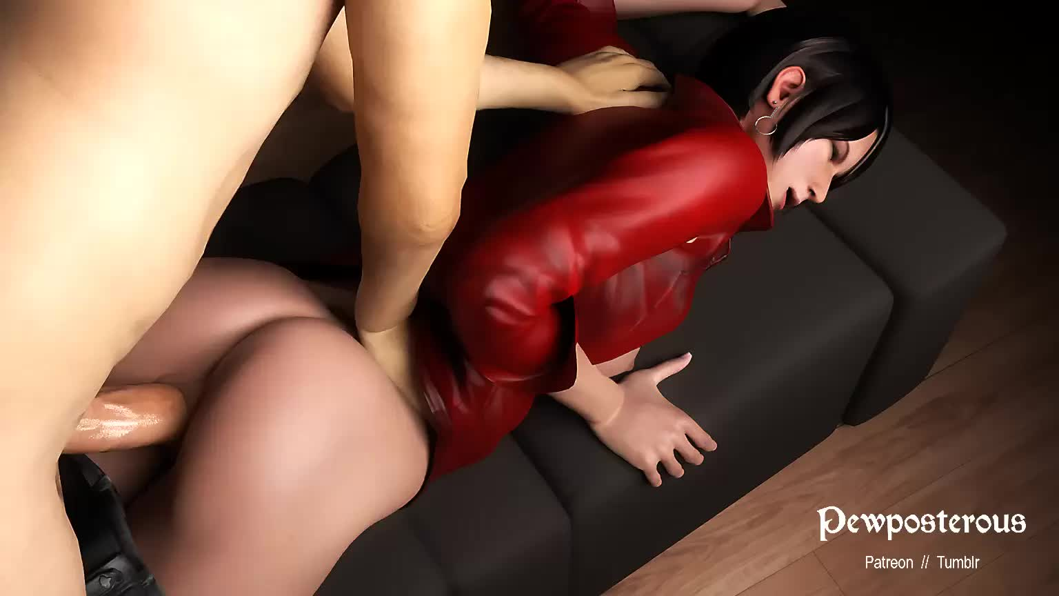 3D Ada_Wong Animated Blender Pewposterous Resident_Evil // 1536x864 // 514.8KB // webm
